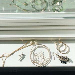asos earrings bundle